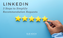 3 Steps LinkedIn Recommendations